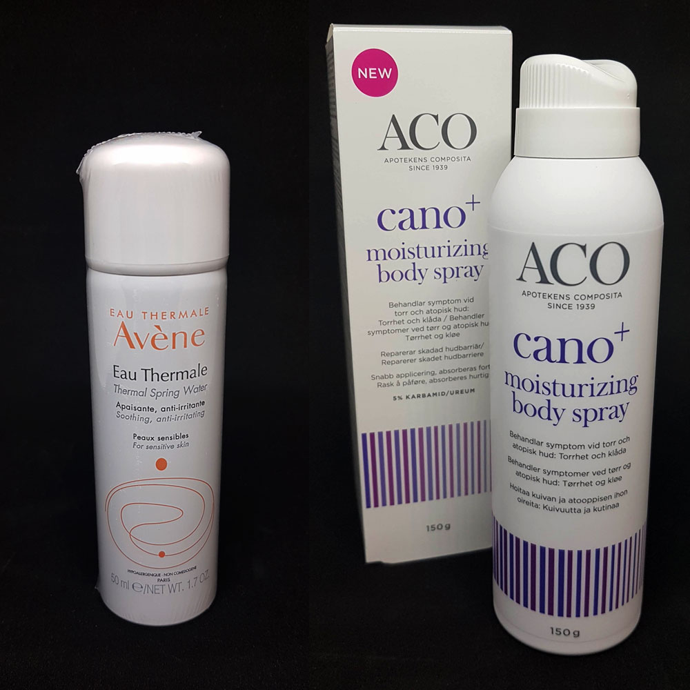Hudvård från Aco & Avène
